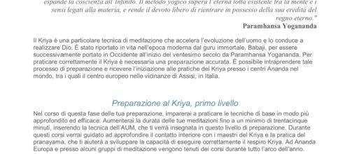 Preparazione Al Krya Yoga : Serata Gratuita Di Presentazione